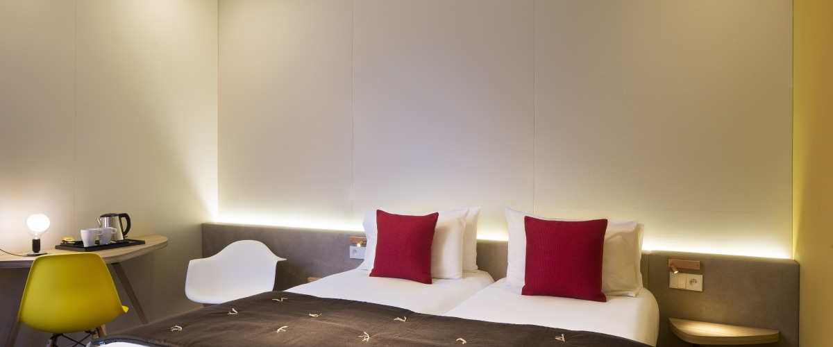 Hôtel Auguste - Chambres TWIN/DOUBLE DELUXE